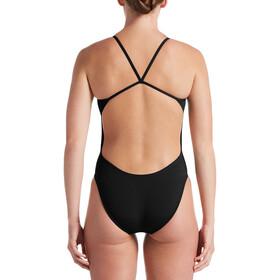 Nike Swim Hydrastrong Soldis CutOut One Piece Bañador Mujer, black